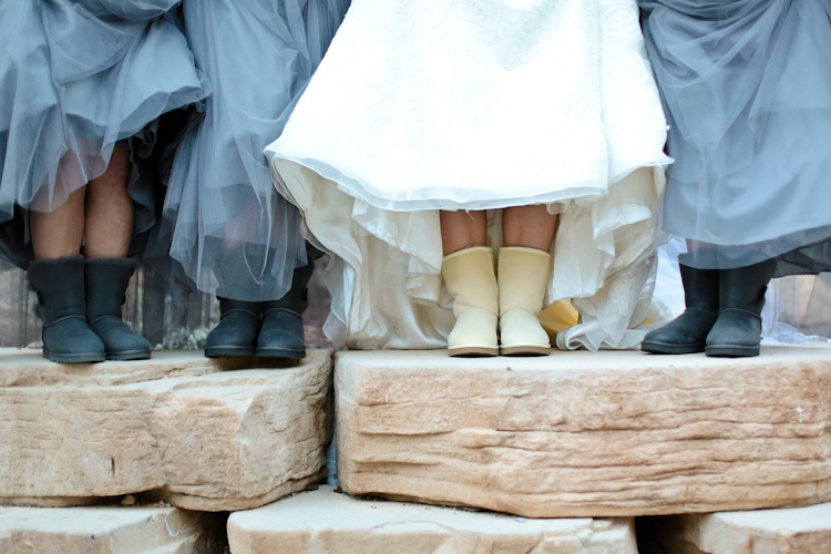 Uggs-wedding-winter-colorado-estes-park