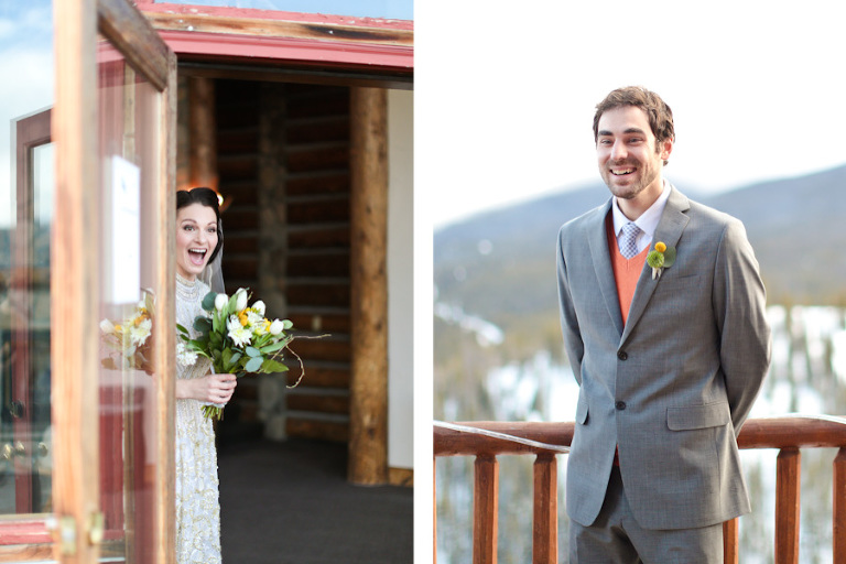 Elopement ceremony at the Lodge and Spa at Breckenridge