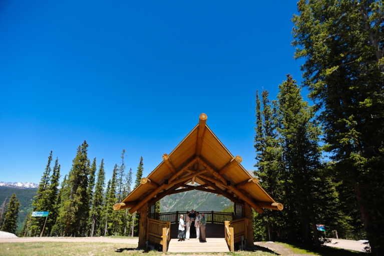 copper mountain wedding ceremony site