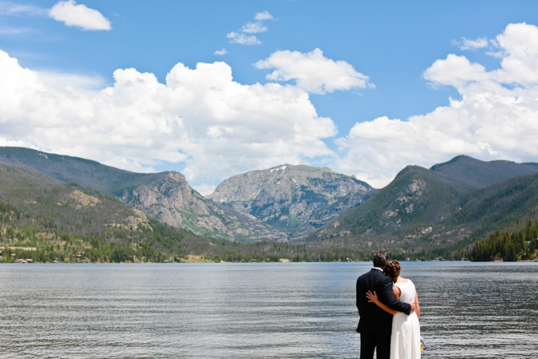 Point Park Grand Lake elopement location