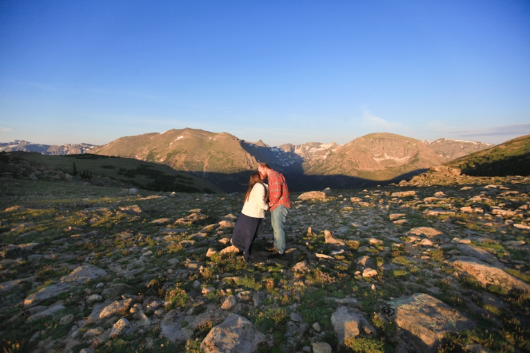 Elopement Ceremony on Trail Ridge