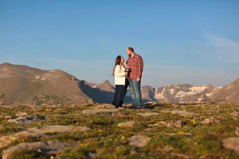 Elope on Trail RIdge Road in RMNP