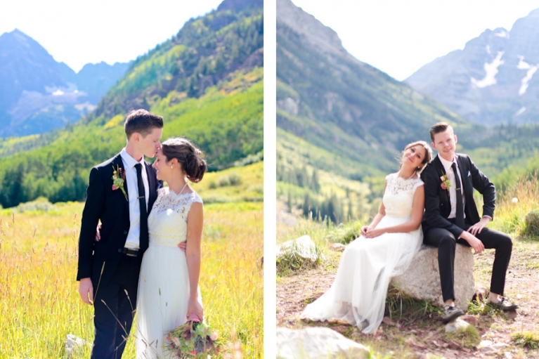 eloping at maroon bells