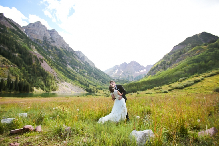 maroon bells intimate wedding