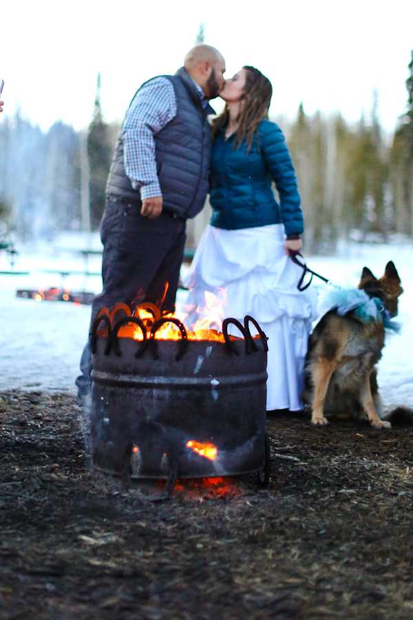 Elope with a campfire