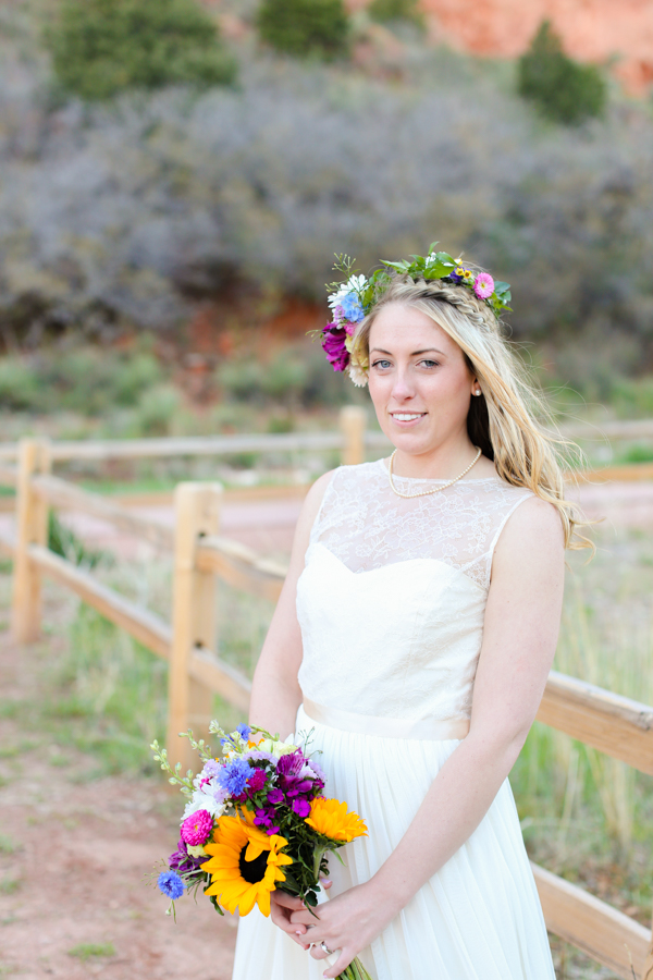 bride-elope-flower-crown-colorado