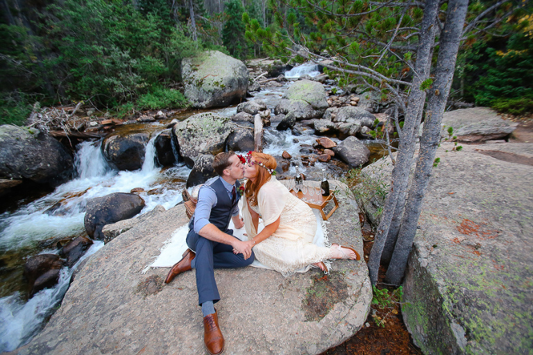 riverside elopement in rocky mountain national park photo by becky young