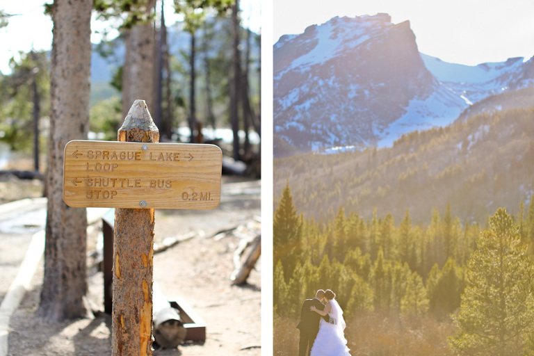 An elopement at Storm Pass inside Rocky Mountain National Park photo by Becky Young