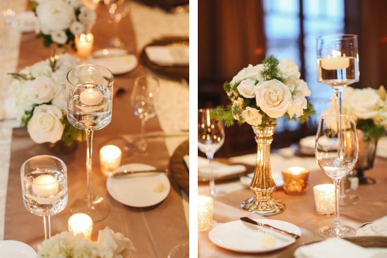 luxury resort for winter wedding decor at the Ritz-Carlton in Colorado