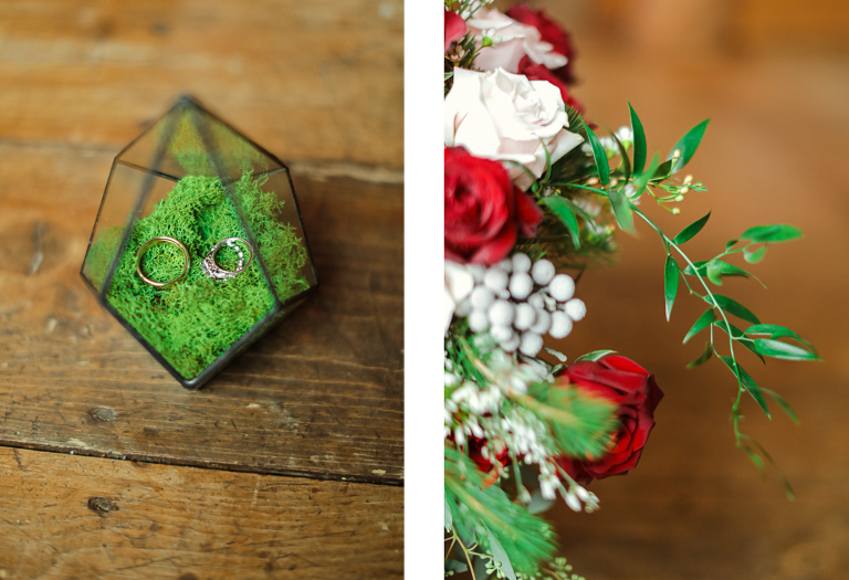glass terrarium wedding ring box