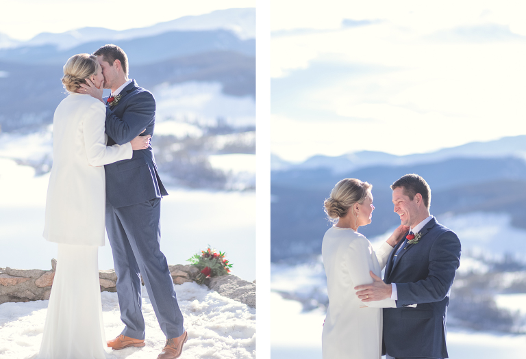 Eloping in Colorado in February