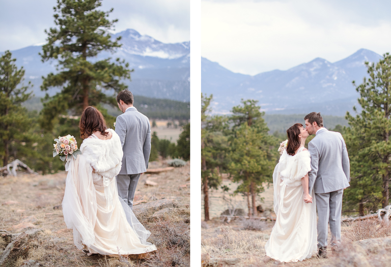 The 3M Curve is a beautiful overlook in Rocky Mountain National Park that is perfect for a small wedding or elopement