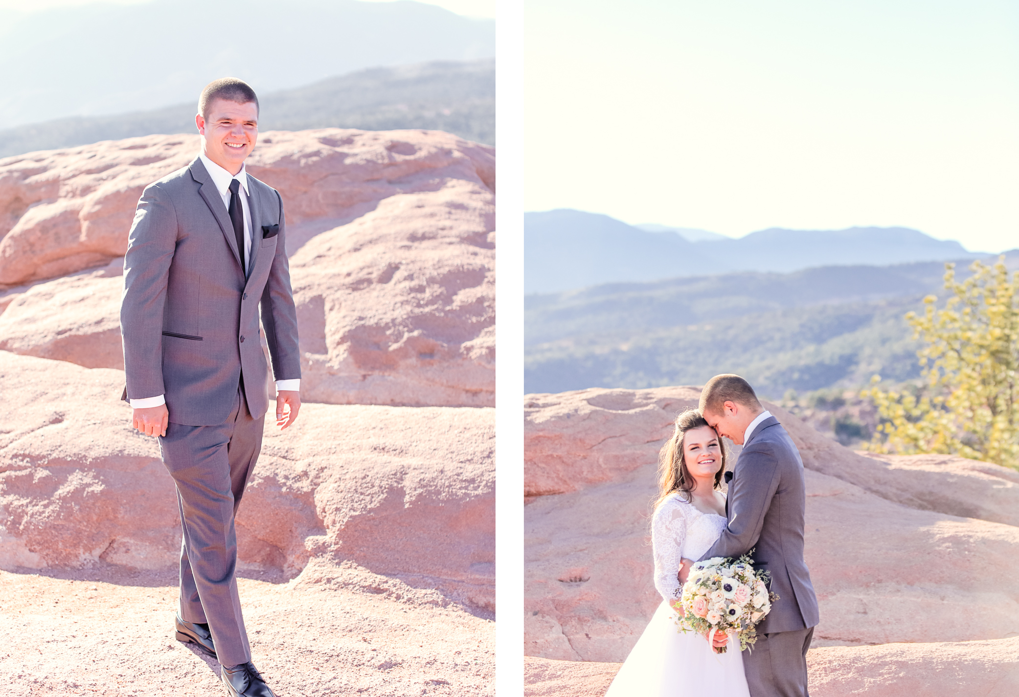High Point Wedding Garden Of The Gods Becky Young